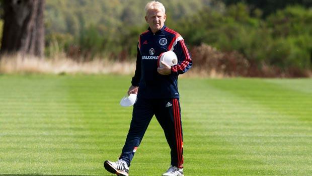 Gordon Strachan Scotland manager