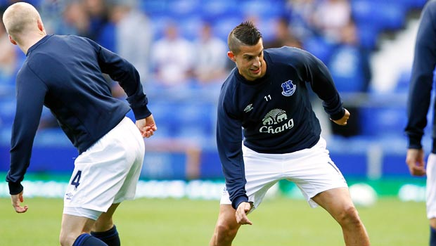 Kevin Mirallas Everton forward