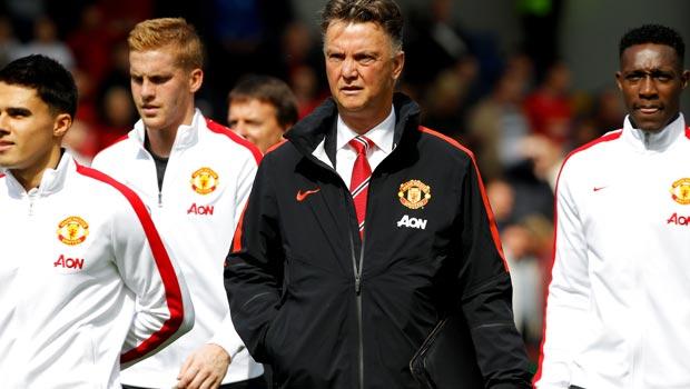 Louis van Gaal Man United Boss