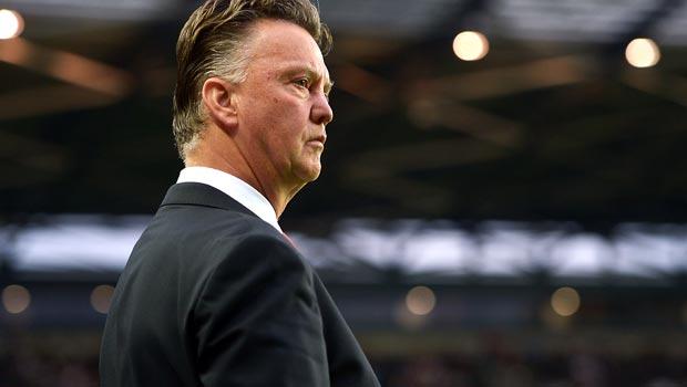 Louis van Gaal Man United manager