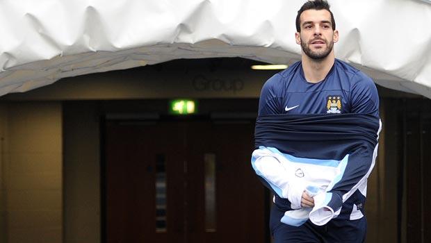 Manchester City Alvaro Negredo
