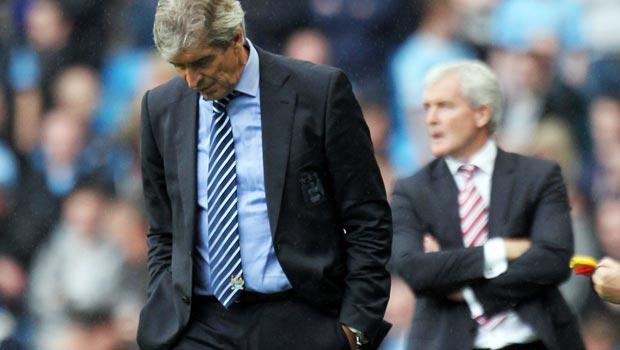 Manchester City v Stoke City Premier League