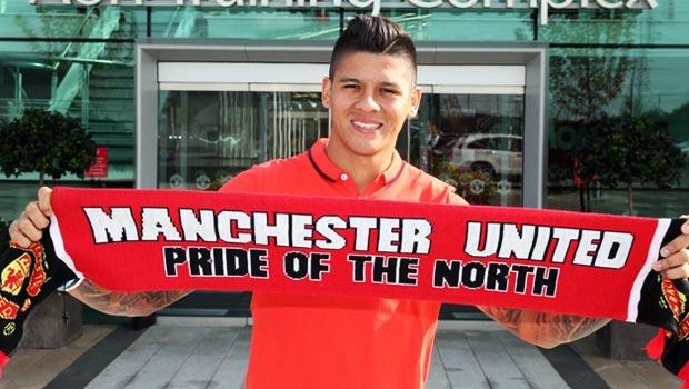 Marcos Rojo Manchester United Defender