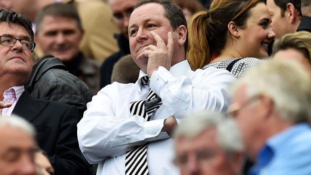 Newcastle Chairman Mike Ashley