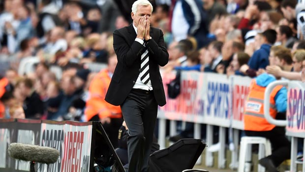 Alan Pardew Newcastle United manager