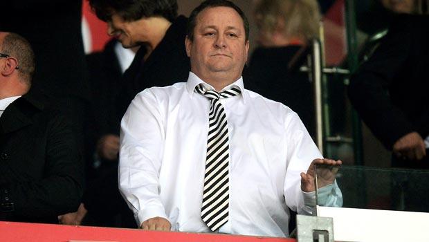 Mike Ashley Newcastle United owner