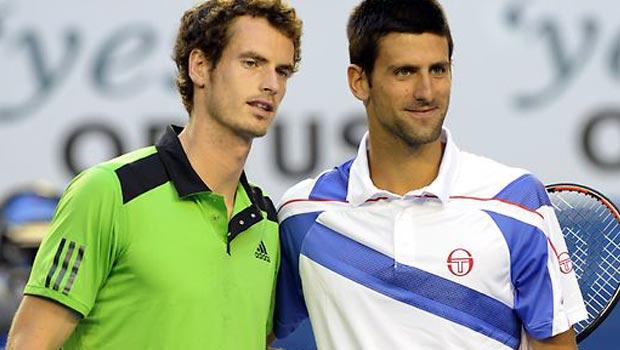 Novak Djokovic and Andy Murray US Open