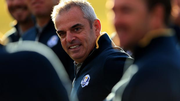 Paul McGinley Europes captain Ryder Cup