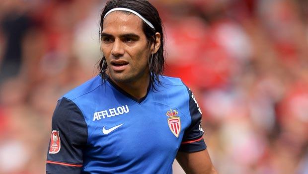 Radamel Falcao AS Monaco striker