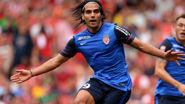 Radamel Falcao AS Monaco to Man United