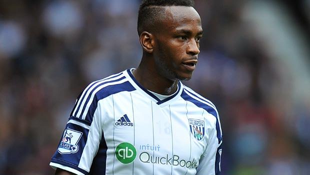 Saido Berahino West Bromwich Albion Striker