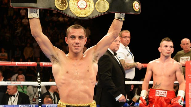Scott Quigg WBA World Super Bantamweight champion