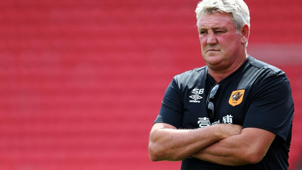 Steve Bruce Hull City boss