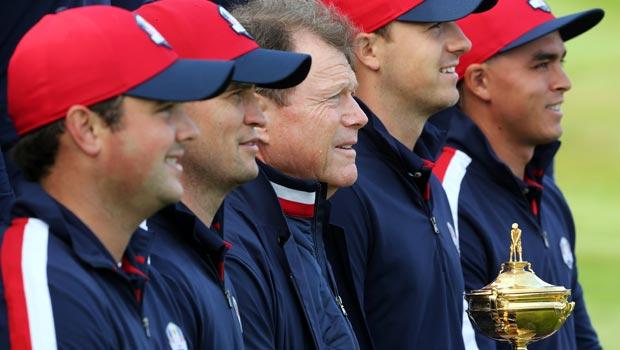 Team USA captain Tom Watson Ryder Cup