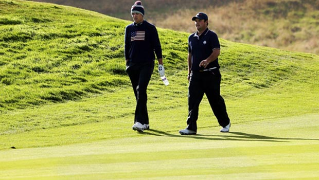 USA Jordan Spieth and Patrick Reed Ryder Cup