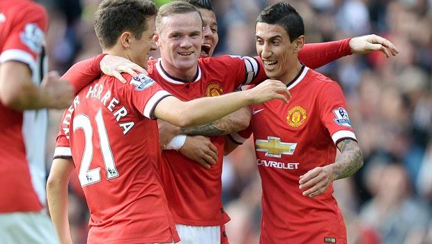 Wayne Rooney Manchester United v QPR