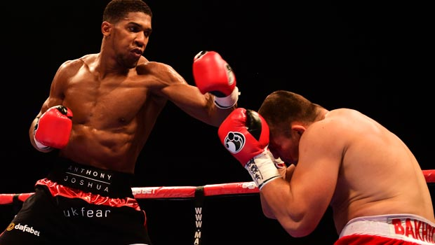 Antony Joshua WBC international heavyweight title