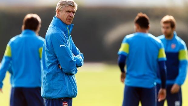 Arsenal manager Arsene Wenger Champions League