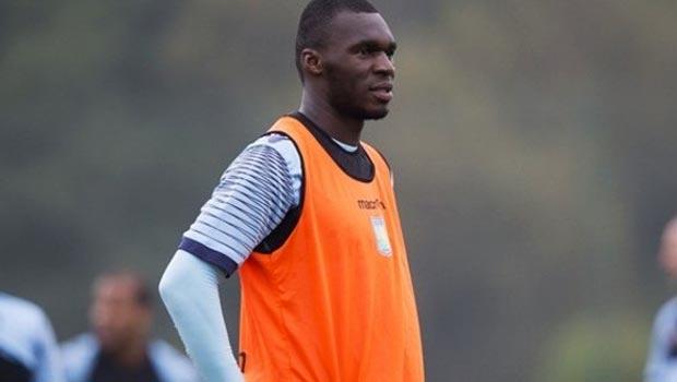 Christian Benteke Aston Villa striker