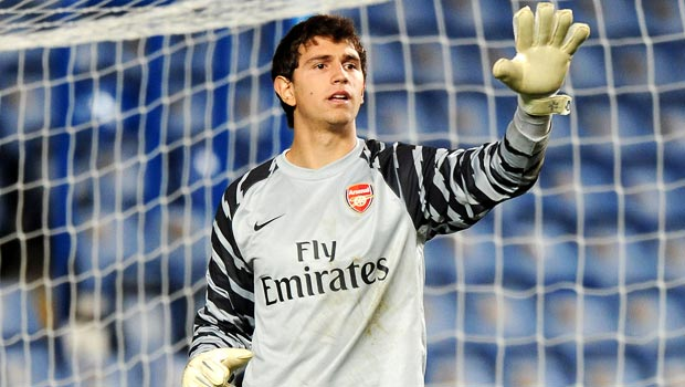 Emiliano Martinez Arsenal Goalkeeper