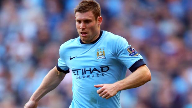 James Milner Man City