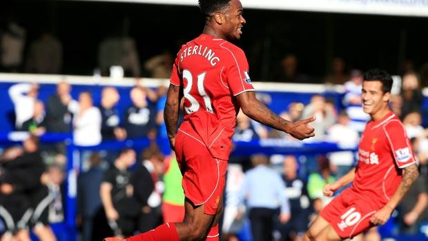 Liverpool midfielder Raheem Sterling