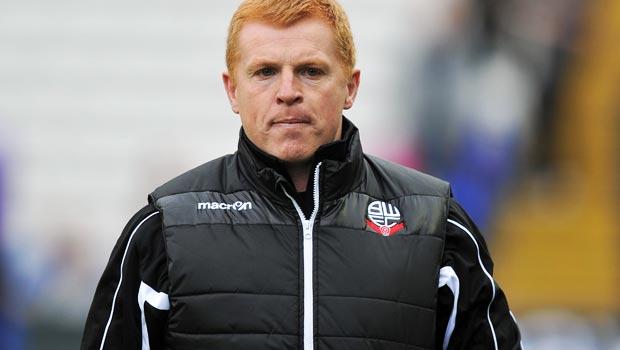 Neil Lennon New Bolton Wanderers boss