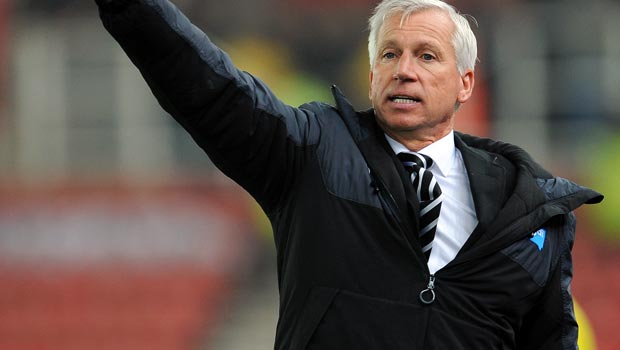 Alan Pardew Newcastle United boss