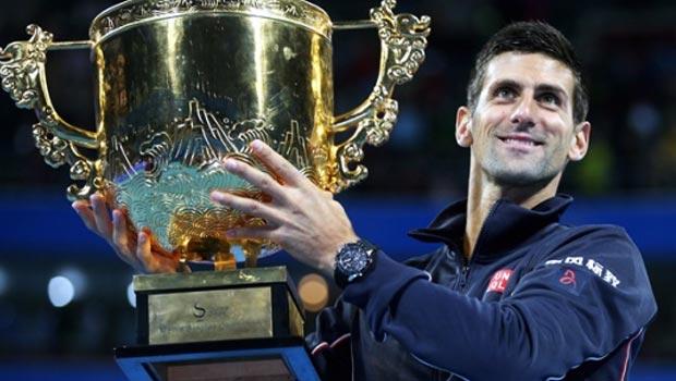 Novak Djokovic wins China Open 2014