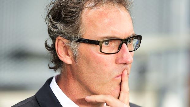 Paris St Germain coach Laurent Blanc