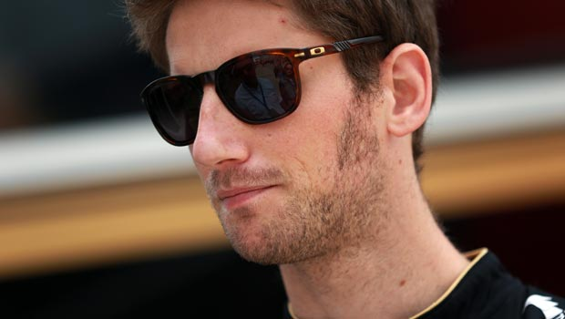 Romain Grosjean Lotus