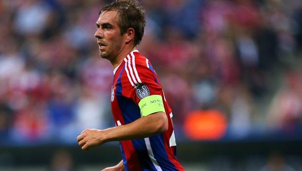 Bayern Munich captain Philipp Lahm