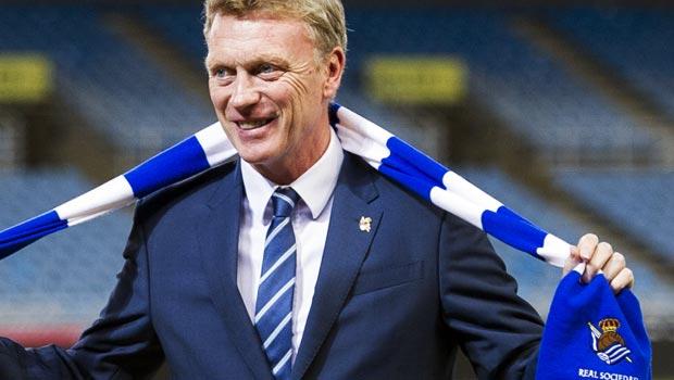 David Moyes Real Sociedad manager