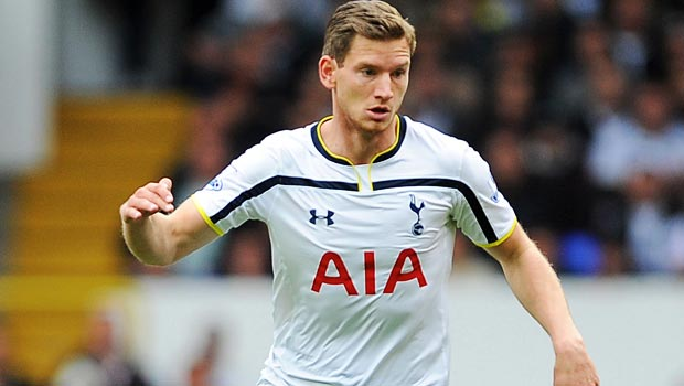 Jan Vertonghen Tottenham Hotspur