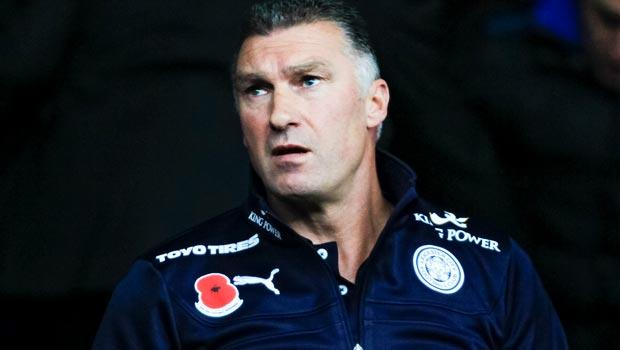 Leicester City manager Nigel Pearson Premier League