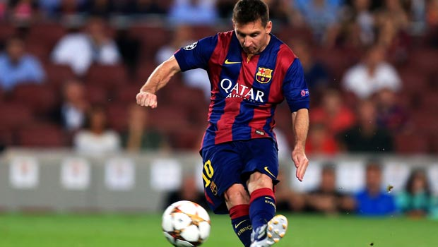 Lionel Messi Barcelona Champions League