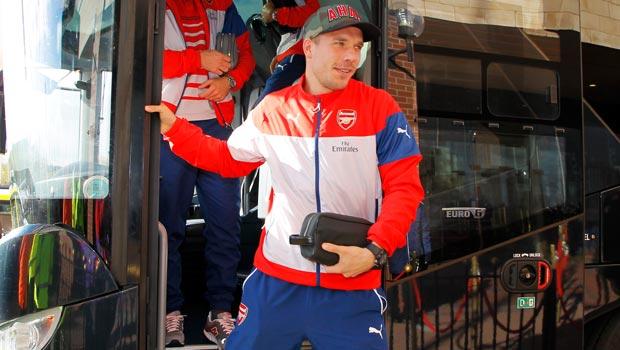 Lukas Podolski Arsenal Forward