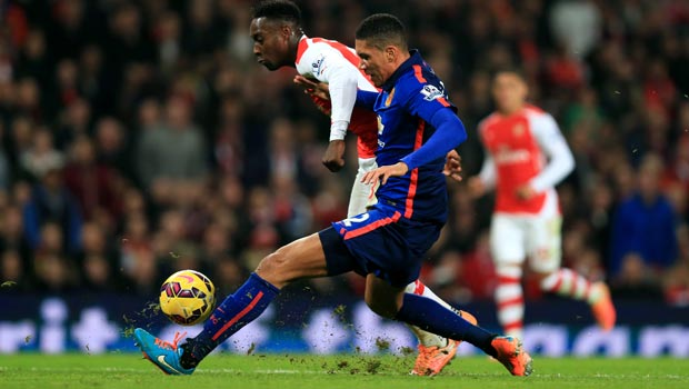 Man United defender Chris Smalling