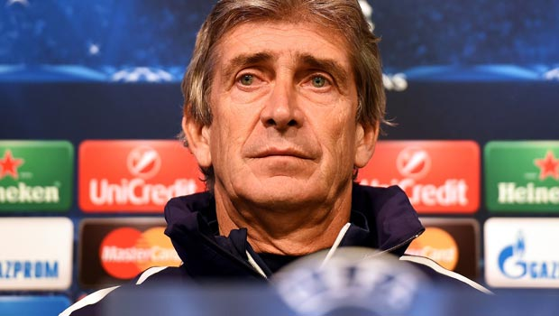 Manuel Pellegrini Manchester City v Bayern Munich Champions League
