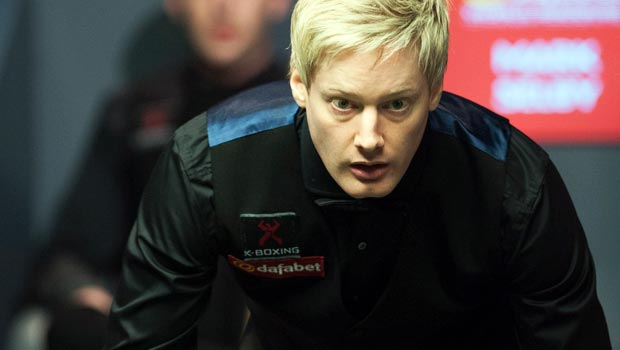 Neil Robertson ahead of UK Championship Crown Snooker