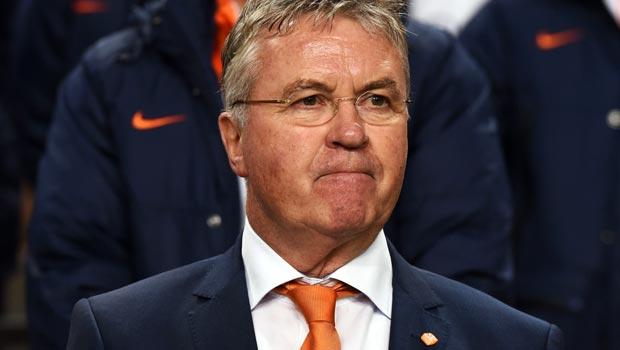 Netherlands boss Guus Hiddink