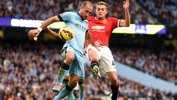 Pablo Zabaleta Manchester City defender
