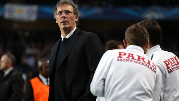 Paris Saint-Germain manager Laurent Blanc