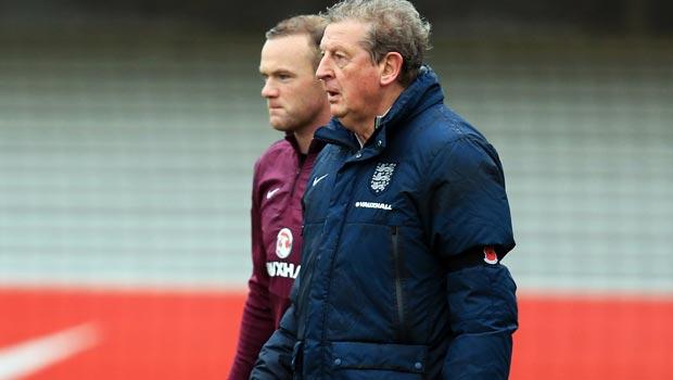 Roy Hodgson and Wayne Rooney England Euro 2016