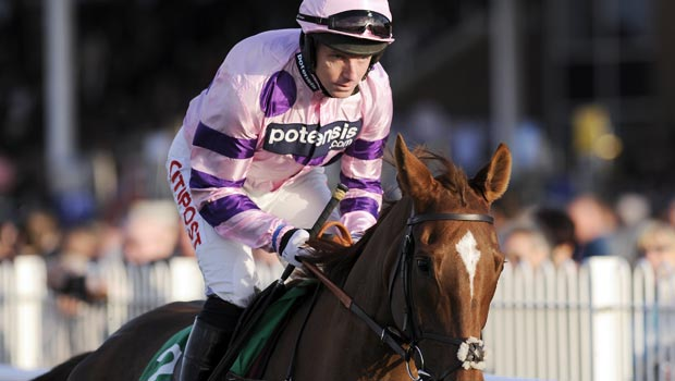 Silviniaco Conti and Noel Fehily Charlie Hall Chase