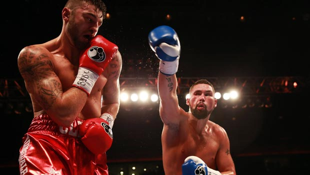 Tony Bellew defeating Nathan Cleverly boxing
