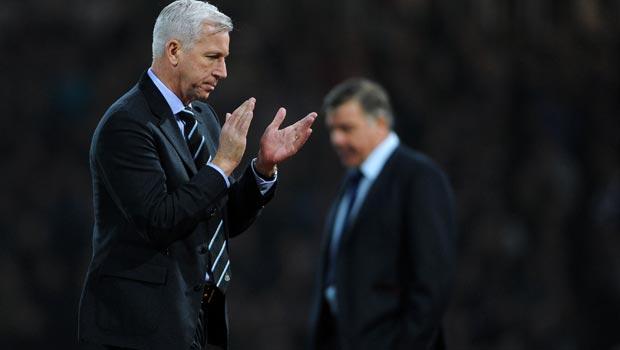 Alan Pardew Newcastle United v West Ham United