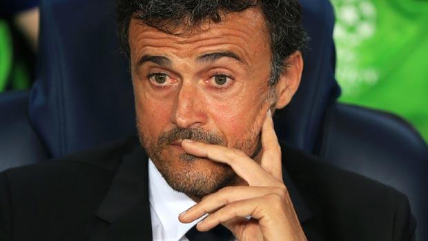 Barcelona Head Coach Luis Enrique