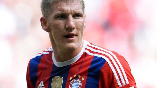 Bayern Munich star Bastian Schweinsteiger