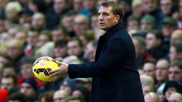 Brendan Rodgers Liverpool v Stoke City